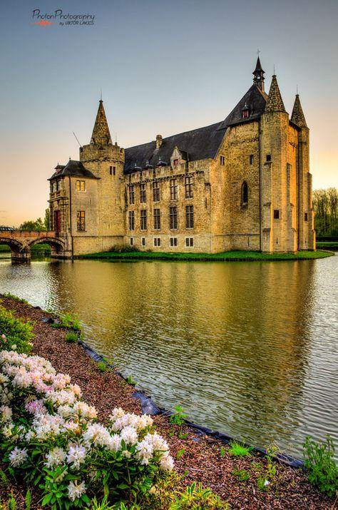 Golden Hour at Laarne Castle, Belgium