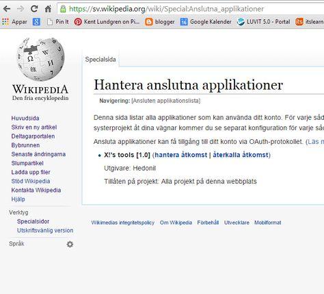 ansluta wiki