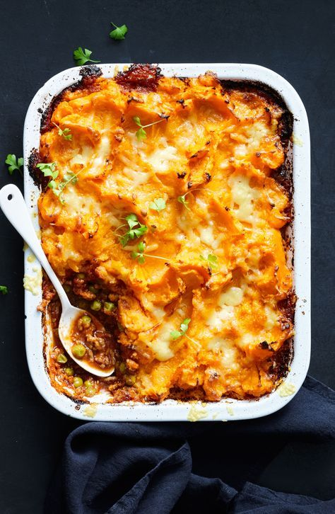Savoury Mince And Sweet Potato Pie Recipe Lamb Mince Recipes Mince Recipes Savoury Mince