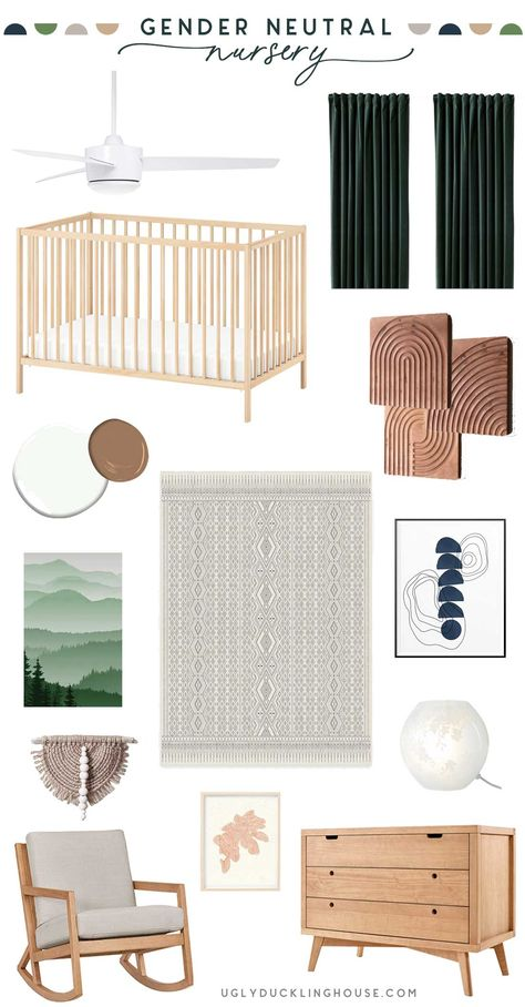 Trying to design a not-too-cutesy nursery was a tricky challenge for me but in this post, I share some of my thoughts of a gender-neutral design that I think can grow with my kiddo and lend itself to colorful additions over time! Gender Neutral ( Hopefully Somewhat Sophisticated) Nursery Ever since I learned I was ... Read More about Gender-Neutral Nursery Design The post Gender-Neutral Nursery Design appeared first on Ugly Duckling House.
