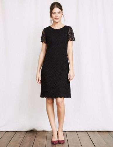 Brand New Boden Ww228 Harriet Lace Dress Size 10r Black Special Occasions Dress Fashion Clothing Shoe Black Dresses Uk Cotton Dress Summer Casual Dresses Uk