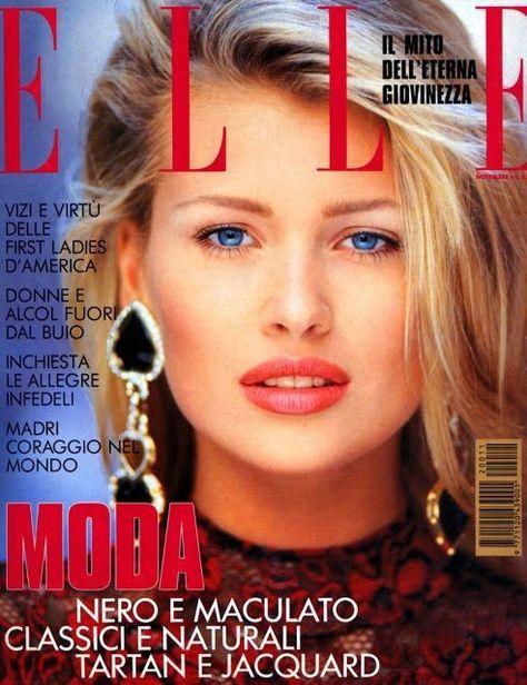 Daniela Pestova, New York City, Cover by Marco Glaviano for Elle Italia November