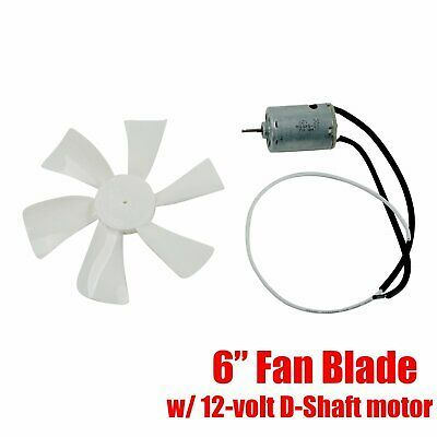 Sponsored Ebay 6 Rv Vent Motor Bath Exhaust Fan Blade 12v Home Bathroom Mobile Home Rv Motor Bath Exhaust Fan Exhaust Fan Fan Blades