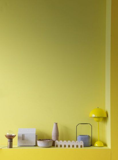 Color Trends 2020 Lemon Yellow Interiors Design Ab819186bae22de233886fa70855af74 Colorful Interiors Yellow Interior Lemon Yellow Lemon yellow room paint color