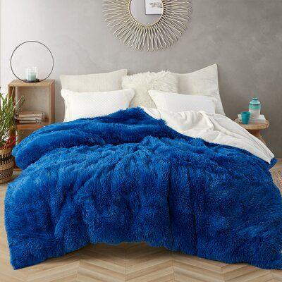 Rosdorf Park Harlow Single Duvet Cover Size Twin Xl Duvet Cover Color Blue Blue Bedroom Decor Royal Blue Bedrooms Blue Room Decor