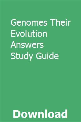 Genomes Their Evolution Answers Study Guide Teacher Manual Math Expressions Kindergarten Math