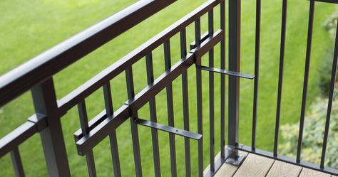 Shelf Brackets 36 Mounting Rail Kit In 2020 Balcony Railing