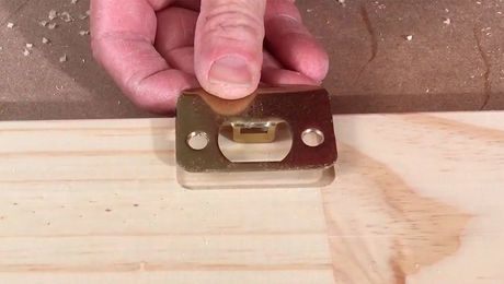 Must Have Router Jigs Mortise Door Hardware With This Custom Guide Fine Homebuilding Router Jig Router Trim Carpentry