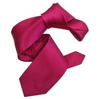 Dmitry Mens Italian Silk Black Solid Mens Tie