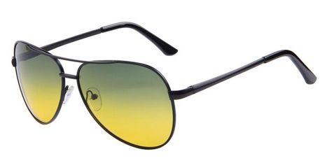 490540c3352 Night Vision Driving Men Sunglasses Polaroid Pilot Style Alloy Frame Sun  Glasses  Unbranded  Pilot