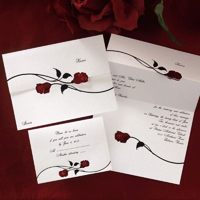 ideas and decorations for beauty and the beast wedding, ceremony, Wedding invitations