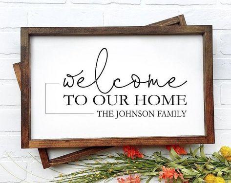 Family Name Established Sign, Farmhouse Sign, Last Name Sign, Custom Name Sign, Personalized Sign, Family Established Sign, Rustic Sign