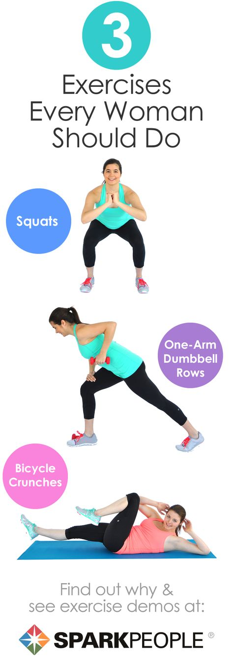 3 Exercises Every Woman Should Do
