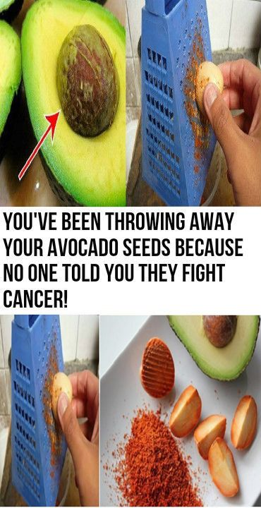 You've Been Throwing Away #avocado Seeds Because No One Told