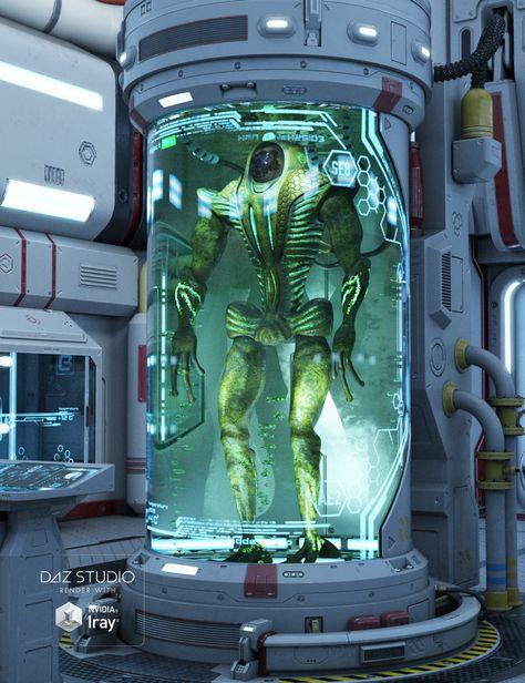 3d stasis chamber model