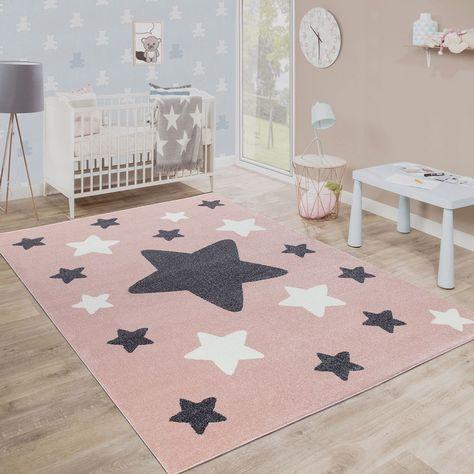 Pink Kids Rug S Nursery Carpet