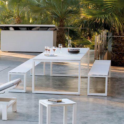 Bank Fur Den Garten Modern Aluminium Fur Privatgebrauch