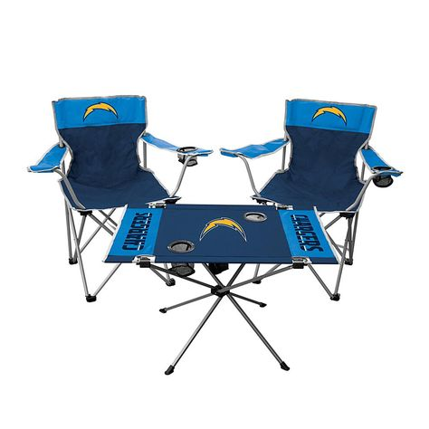 Navy NFL Los Angeles Chargers Oniva Portable Reclining Seat