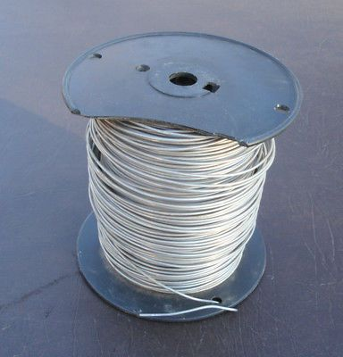 Ad Ebay Bare Solid Aluminum Ground Wire Tie Wire 12 Gauge Around 830 Ft Aluminum Wire Copper Wire Crafts Wire Table Wire Tie