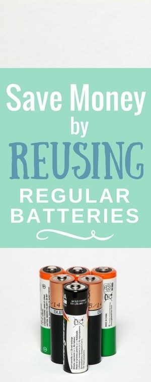 Recharging Alkaline Batteries How To Save Money By Recharging Regular Batteries Alkaline Battery Saving Money Recharge