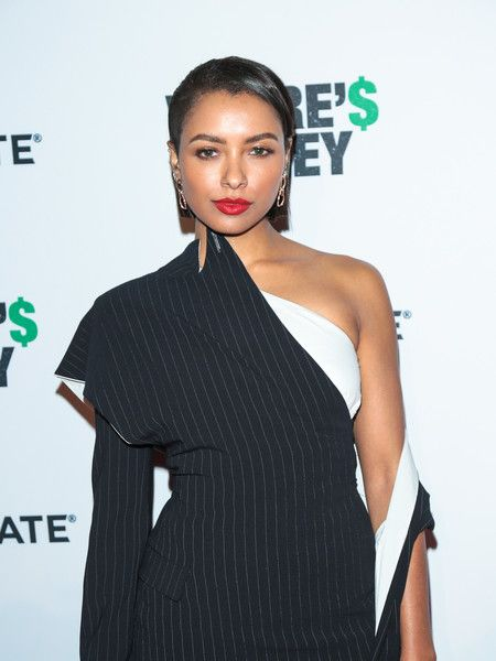 Kat Graham  is seen attending the premiere of Lionsgate's 'Where's the Money' at ArcLight Cinemas in Los Angeles.