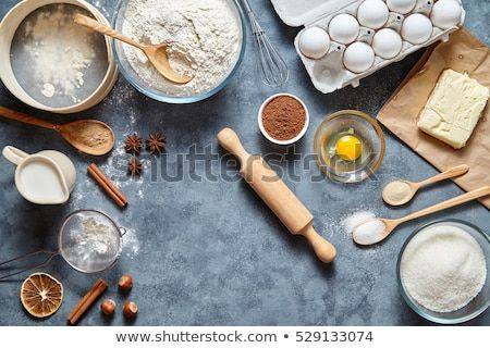 Dough Preparation Recipe Bread Pizza Pasta Or Pie Ingridients