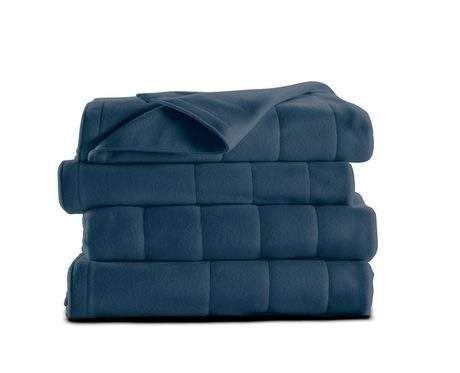 Electric Throw Blanket Walmart Prepossessing Walmartca Sunbeam Quilted Fleece Heated Blanketqueen  $20 Prev Decorating Design