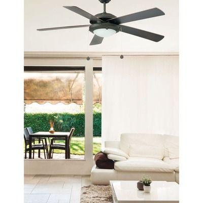 Ventilateur De Plafond Marron 60w Manila Faro Ventilateur Plafond Ventilateur Parement Mural Exterieur