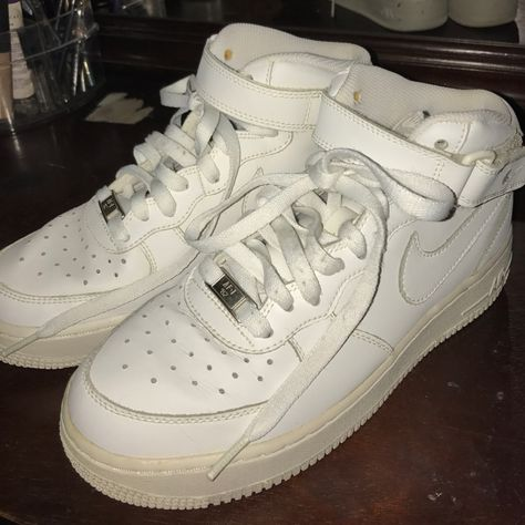 Nike Shoes | Nike Air Force 1 | Color: White | Size: 6
