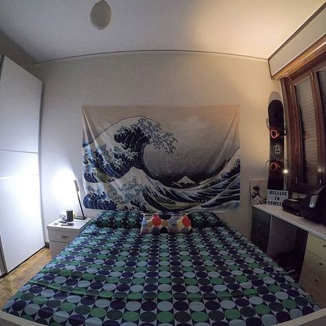 "[New] The 72 Best Home Decor Ideas Today (with Pictures) Ideas -  I'm in love with my new ""Great Wave"" tapestry   . . #tapestry #TheGreatWaveofKanagawa #Hokusai #homedesign #housedesign #homedecor #housedecor #bedroom #bedroomdecor #interiordesign #design #decor #nofilter #nofilterneeded #GoProHERO7black"