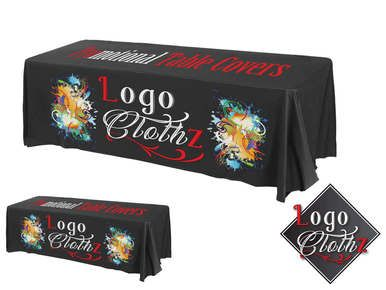 8 Custom Printed Tablecloth All Over