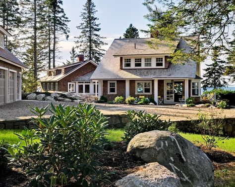 59 Ideas For House Lake Plans Exterior Colors Lake Houses Exterior Maine Cottage Cottage Exterior