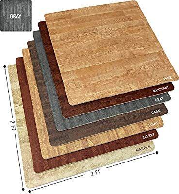 Amazon Com Sorbus Wood Floor Mats Foam Interlocking Wood Mats Each Tile 4 Square Feet 3 8 Inch Foam Floor Tiles Interlocking Flooring Foam Flooring