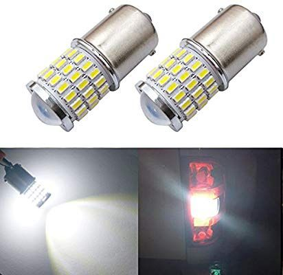 Amazon Com Ibrightstar Newest 9 30v Super Bright Low Power 1156 1141 1003 Ba15s Led Bulbs With Projector Replacement For Back Rv Lighting Led Bulb Tail Light