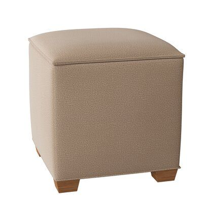 Temple Furniture Toy Storage Ottoman Body Fabric Foundation Fawn Leg Color Natural Leather Cocktail Ottoman Toy Storage Furniture