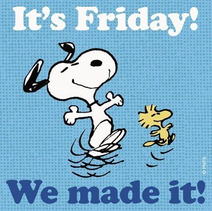 Image result for have a great weekend snoopy