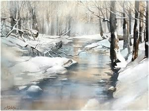 Image Result For Pinterest Painting Watercolor Winter Peinture