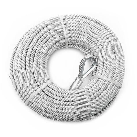 Campbell Commercial 1 Ft 1 4 In Weldless Silver Steel Cable By The Foot Bh5977810 In 2020 Steel Silver The 4