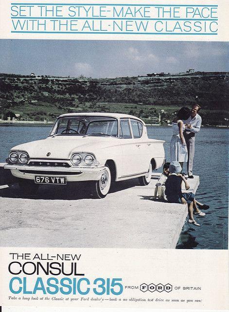 FORD CAPRI /& CONSUL CLASSIC 315 WORKSHOP MANUAL 1961-1964