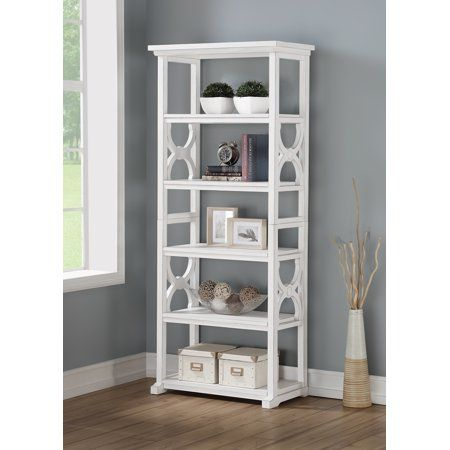 Better Homes Gardens Ansley Bookcase White Bookcase Kids Bed