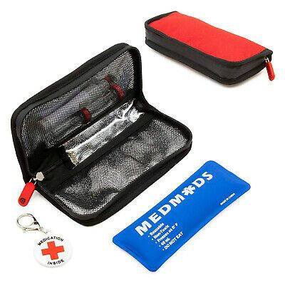 Medmods Insulin Cooler Travel Case With Ice Pack Holds Diabetes