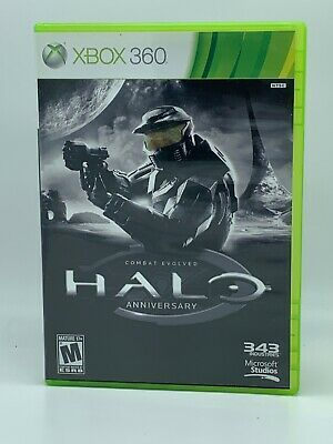 Halo Combat Evolved Anniversary Xbox 360 Xbox One Complete With Manual Ebay In 2020 Combat Evolved Xbox Xbox 360