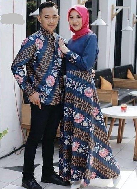 50 Koleksi Model Gamis Batik Kombinasi Polos Modern Terbaru Wikipie Co Id Batik Model Baju Wanita Model Pakaian Muslim