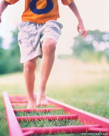 Obstacle Course for Kids- TONS of fun ideas