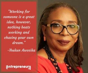 Ibukun Awosika was born on the 24th of December, 1962 to Mr