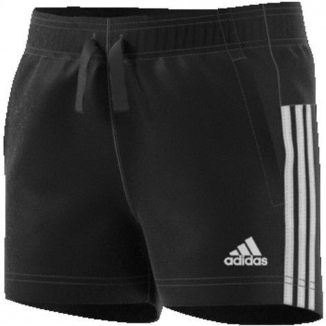 adidas Essentials 3-stripes short junior black ...