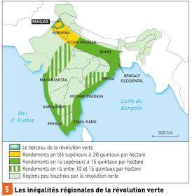 Cap Sur Le Dossier D Histoire Geo La Revolution Verte En Inde Nourrir Les Hommes Revolution Verte Revolution Inde
