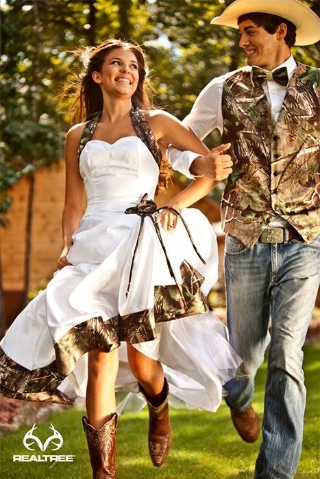 Yep.... I would so have this kind of dress and the guy I marry would wear that vest!! Lol