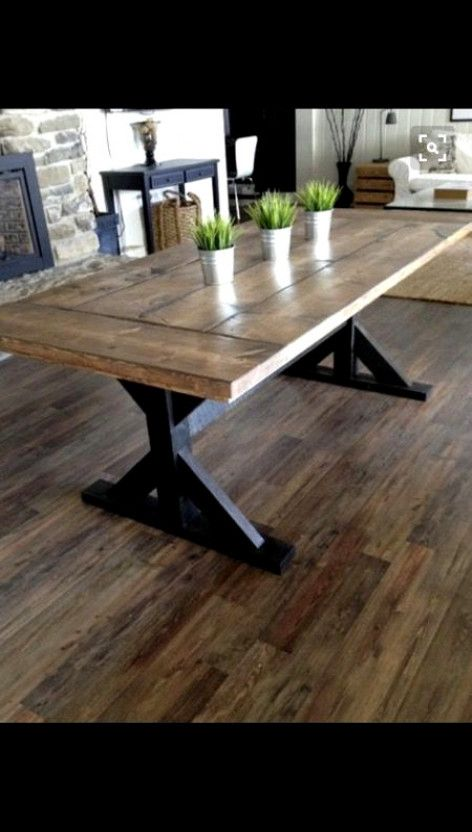 Custom Farm Table For Sale In Tempe Az Double Pedestal Dining