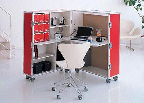Do It Yourself Desks That Really Work For Your Home Office Modern Home Office Furniture Portable House Modular Office Furniture